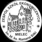 Logo Zespołu Szkół Ekonomicznych w Mielcu
