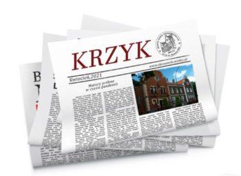 Logo szkolnej gazetki Krzyk