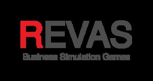 Logo symulacji branżowych REVAS